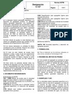 ASTM C-127 Densidad y Absorción Del Agregado Grueso,