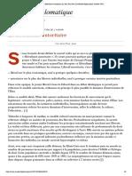 Le libéralisme autoritaire, par Jean-Paul Jean (Le Monde diplomatique, octobre 1987)