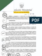 RM N° 592-2018-MINEDU NORMAS QUE REGULAN EL PROCEDIMIENTO PARA EL ENCARGO DE PLAZAS VACANTES DE CARGOS DIRECTIVOS, JERÁRQUICOS, ESPECIALISTA EN FORMACIÓN DOCENTE Y ESPECIALISTAS EN EDUCACIÓN EN EL MARCO DE LA L