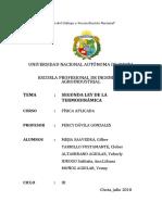 2da Ley de La Termodinámica (Grupo 6)