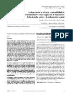 Evaluación de La Eficacia y Tolerabilidad de Fitostimoline Crema Vaginal en El Tratamiento de La Distrofia Vulvar y La Inflamación Vaginal