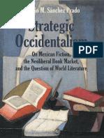 Strategic Occidentalism de Ignacio Sánchez Prado
