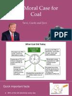 Benefits of Coal Presentation