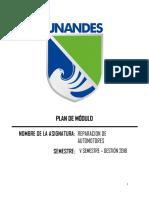 Plan de Módulo Rms