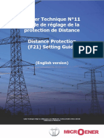 CT11 Distance Protection F21 Setting Guide