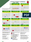 08-09 LCPS Calendar