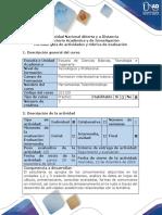Guía de Actividades y Rúbrica de Evaluación - Post-tarea