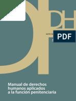Manual de Derechos Humanos Dentro Del SIstema Penitenciario