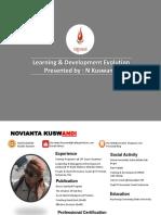 learning & development Evolution