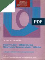 Como Formular Objetivos Comportamentais Úteis - Julie S Vargas (INDEX)