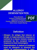 Allergic Desensitasi