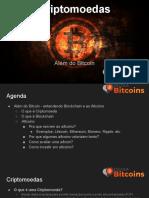 Escola Bitcoins Relatório sobre Criptomoedas