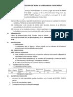 Bases Para La Eleccion La Reyna 2018.