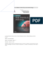 2015 - Handbook of Male Infertility & Andrology