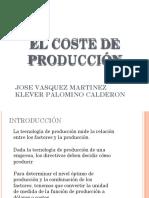 5. Coste de Produccion
