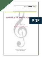 Espacio de La Prctica Docente I. Instrumento