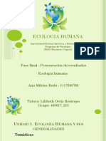 Ecologia Humana 1