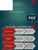 La Accion y Pretension