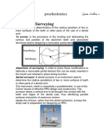Lec.3 Survying in prosthodontic