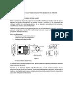 Medidores de Presion Electromecanicos