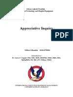 The Appreciative Inquiry