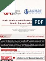 Persentasi Seminar AAMAI Feb2018 Fraud