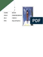 biodata syarif