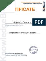 15 Instalaciones UV Dulcodes MP