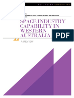 Space Industry Capability in Western Australia May 2018