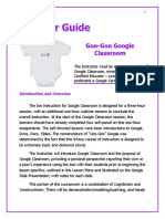 instructor guide for googoogoogle classroom