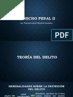 DERECHO PENAL II Teoria Del Delito
