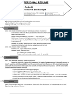 (General Resume) Simple Resume With One-Page 03-WPS Office