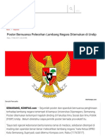 Poster Bernuansa Pelecehan Lambang Negara Ditemukan Di Undip - Kompas.com