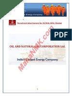 ONGC Mumbai 442 Recruitment 2018 (Www.mahaNMK.com)