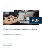 How-To 81 Troubleshooting Failed Authentication