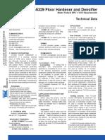 Floor hardener & densifier