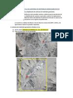 Informe de Visita a Las Canteras de Materiales Granulares en Ica