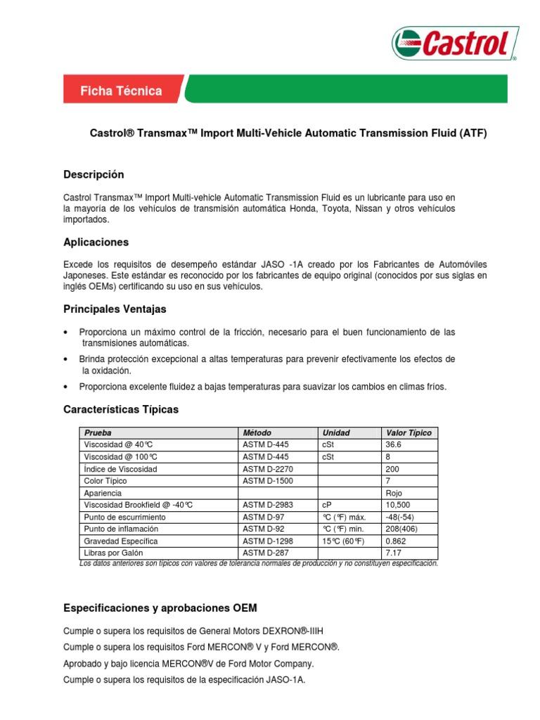 Castrol_TRANSMAX_Import pdf