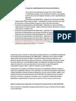 Marco Legal de Comprobantes de Pago Electronicos