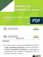 Sesion 15 Asignatura Electiva Servicios de Salud 2018-2