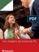 SciencesPo Brochure Masters 2008