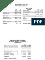 EF's Almacenes Bajos Costos