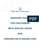 IBA Bankers Guide Nov 2017 - Customers with special needs and persons with disabilities