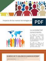 Impacto de La Tecnologia en La Sociedad