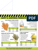 Safety & Janitorial Flyer