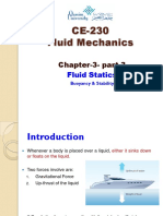 Chapter 3 Part 3 Fluid Statics Buoyancy
