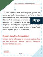 Culture d'honneur 3