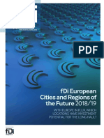 FDi European Cities and Regions of the Future 2018_19