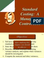 Ch09 Standard Costing