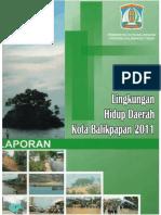 Buku Laporan Slhd Kota Balikpapan 2011